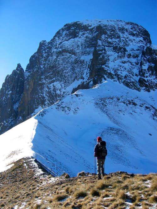 Midi d'Ossau winter