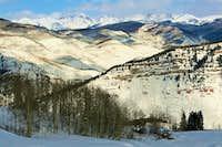 backcountry skiing near Vail