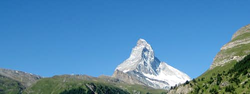 Panoramic view of the Matterhorn