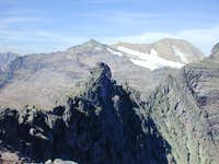 Mt Jackson(GNP) from Peak 8714