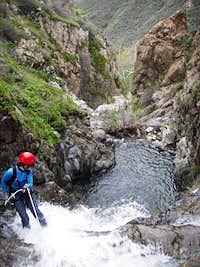Between Lower Tanrverdi Falls and Last Falls