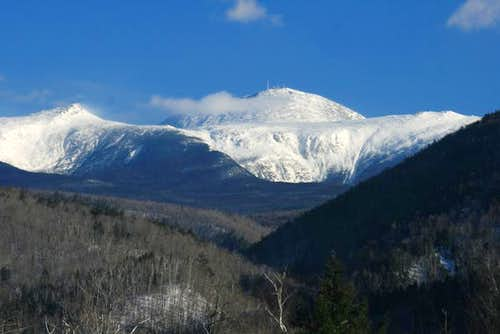 mt. Washington from Crawford Notch