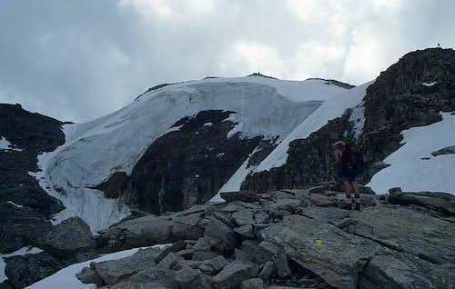 Hoher Angelus - NW Ridge
