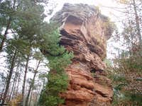 The Rothenfels middle tower : very wild !