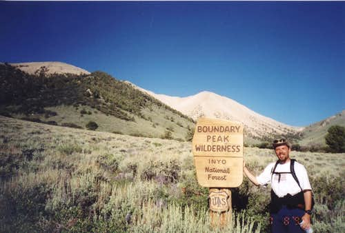 Boundary Peak trail