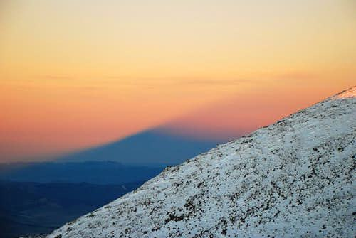 Mount Shasta\'s Shadow