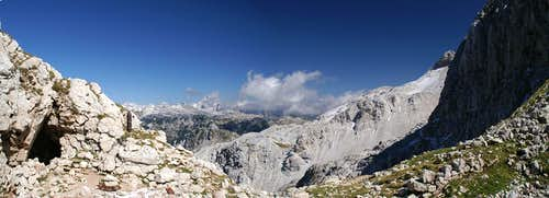 Triglav panorama from Krn Saddle