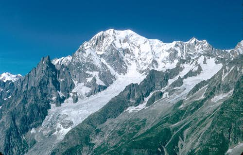 Mont Blanc and Mont Maudit