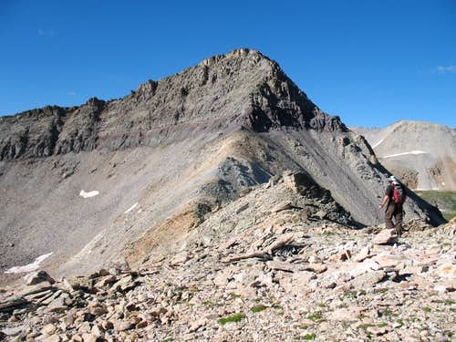 Trico Peak from the north