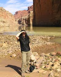 Tanya at Vasey\'s Paradise - Grand Canyon