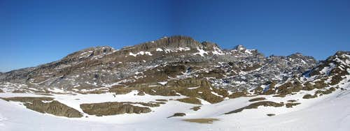 Col of Linza panorama