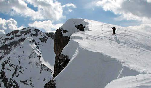 Zima de Zità Sud (Dolomiti Bellunesi).