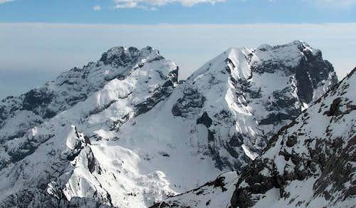 Pelf e Schiara (Dolomiti Bellunesi).