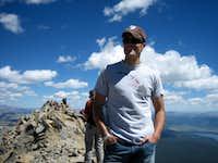 On Top of Mt. Massive