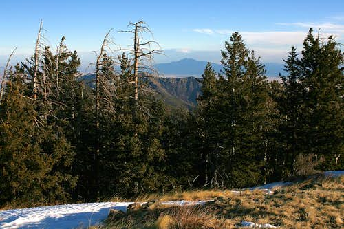 South Baldy summit view
