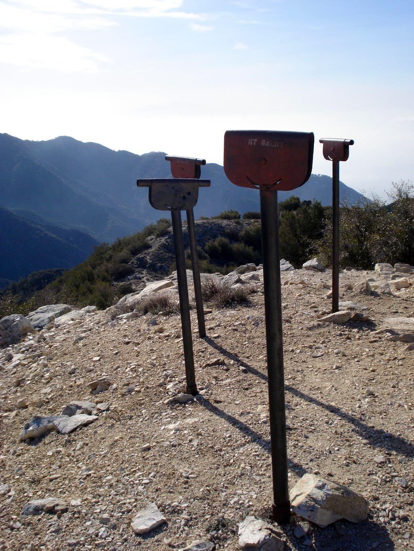 Mount Lowe Sighting Tubes