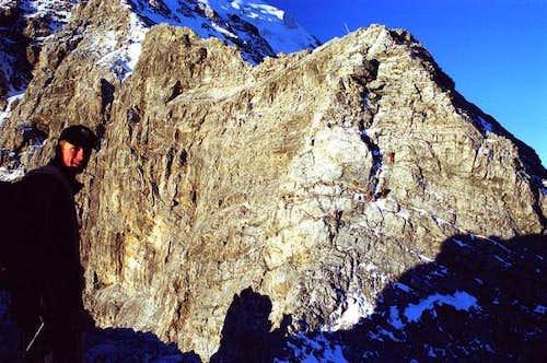 Tschirfeck, a short steep...