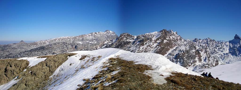 Lapakiza summit panorama