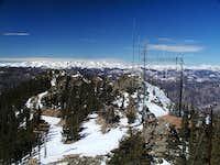 Squaw Mountain summit