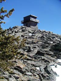 Squaw Mountain lookout tower