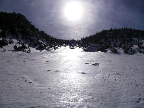 Ascending Snow Creek