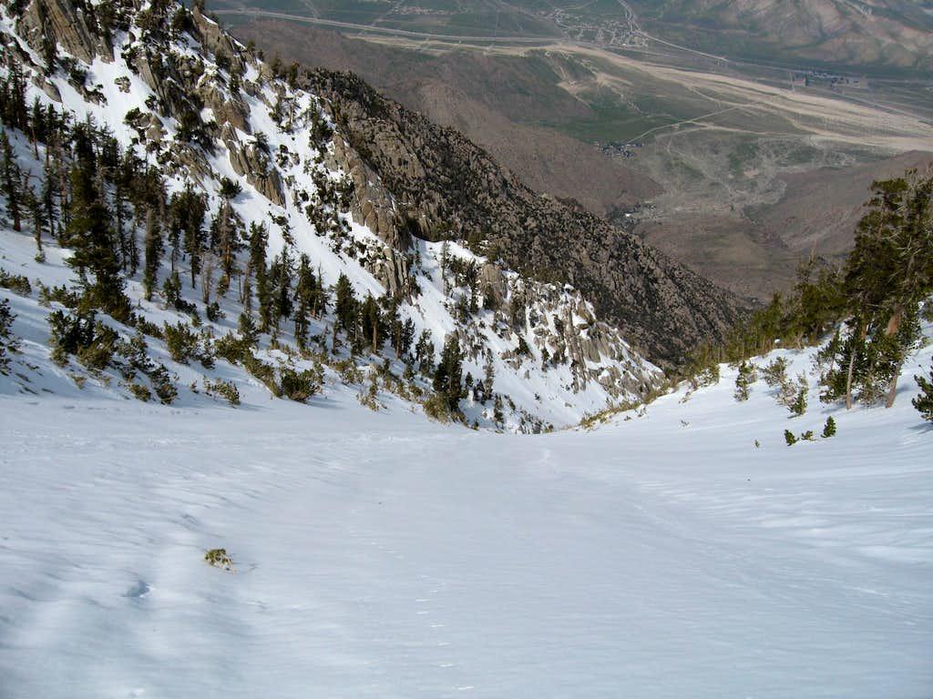 1600 Feet Below the Summit