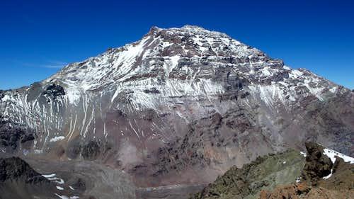 Aconcagua from Cerro Catedral