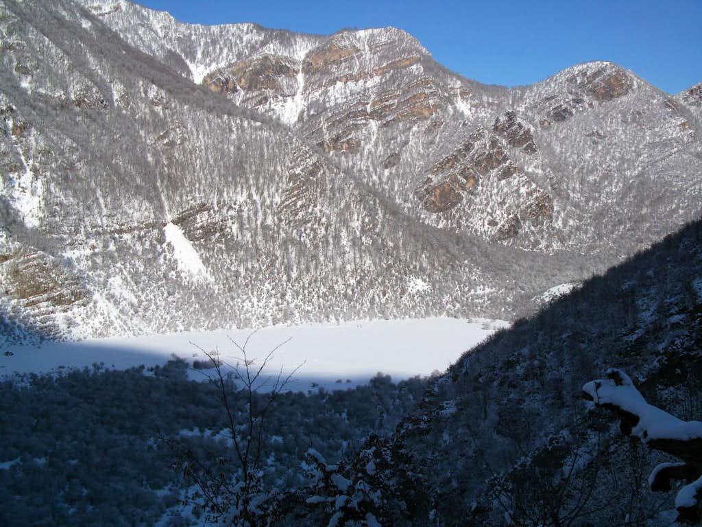 Deep Snow In Daryasar
