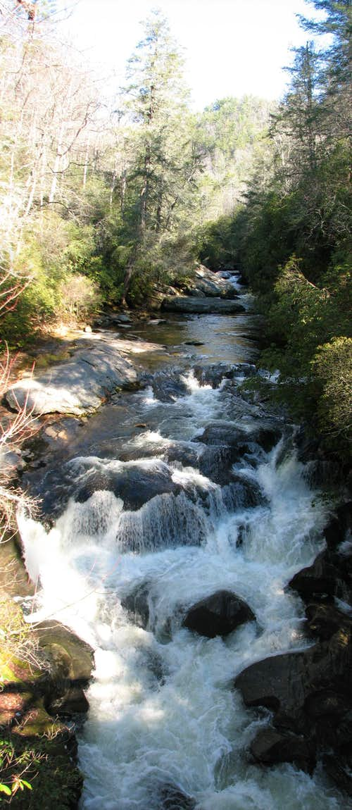 The Chattooga River Gorge (North Carolina section)