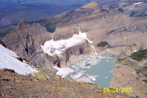 Grinnell Glacier from Gould