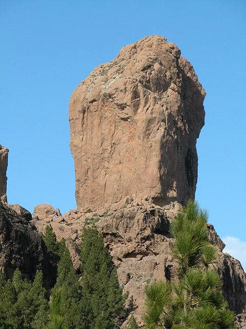 Roque Nublo (1803m), December...