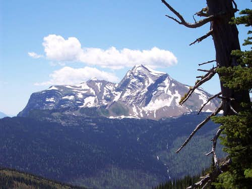 Heaven\'s Peak from Granite Park Chalet