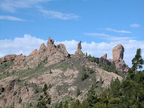 El Fraile and Roque Nublo...