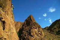 Rock climbing in Todra