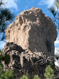 Roque Nublo as seen from the...