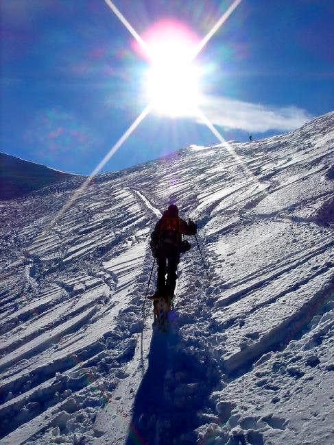 Happy skiing in Watzmannkar