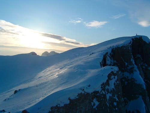 Peak of Kom Vasojevicki 2460 m.