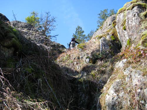Scrambling the South Bluffs