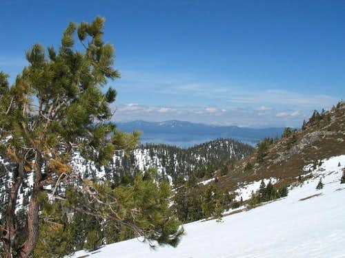 This picture of Lake Tahoe is...