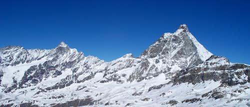 Matterhorn (Il Cervino) skyline