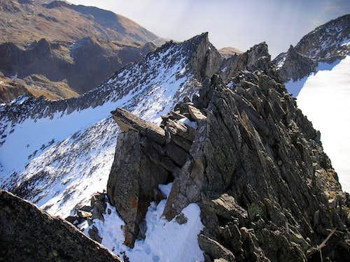 Witenwasserenstock east peak 3025m