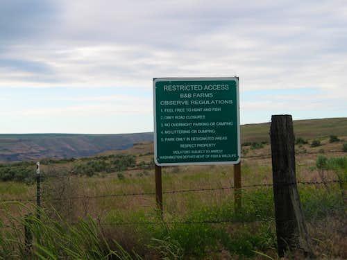 Land rules disclosure