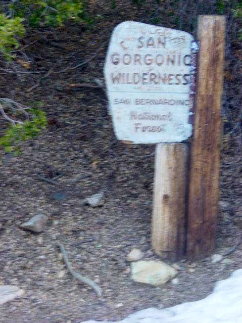 The SG Wilderness Sign