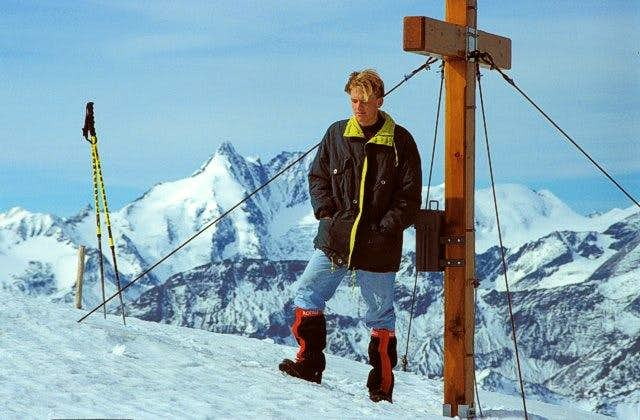 Summit of Hocharn. In the...