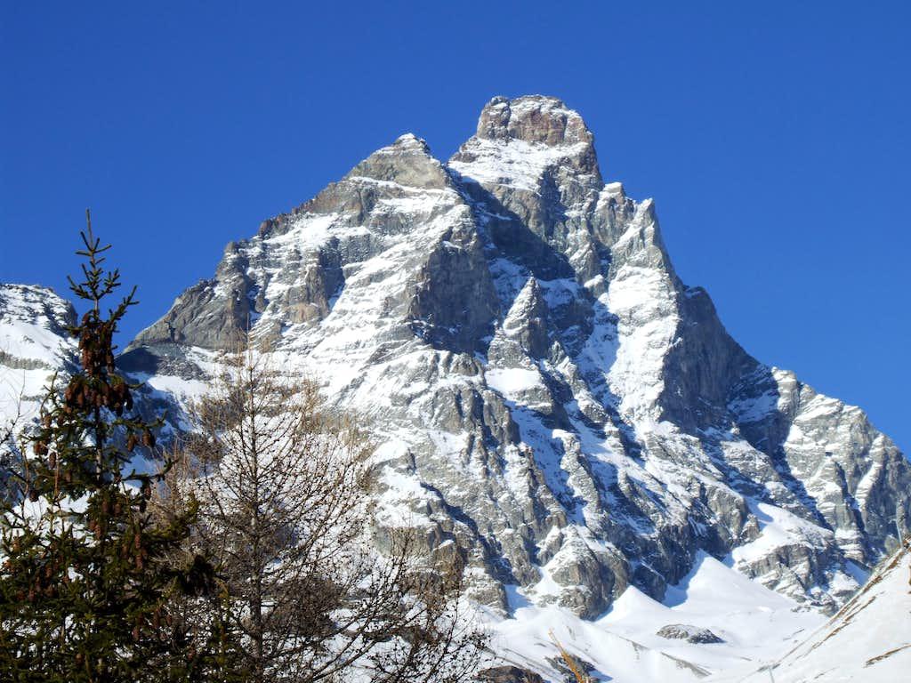 Pic Tyndall and Matterhorn