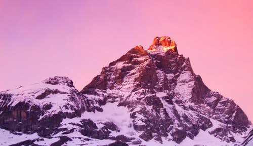 Cervinia sunset