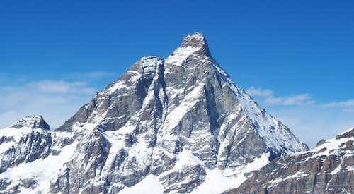 Matterhorn seen from Theodulpass