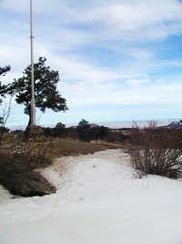 Looking east from Genesee's summit