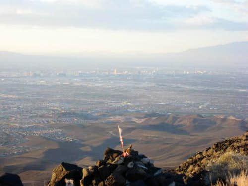 Windy Summit of Black Mountain