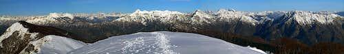 Monte Cuar panorama